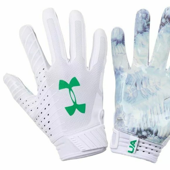 NEW Under Armour UA Spotlight Gluegrip Limited Edition Football Gloves Mens XL